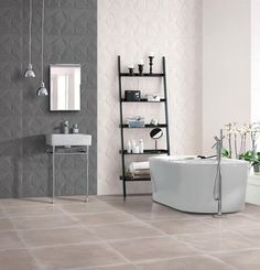 This is a very modern bath tub that we now have in stock