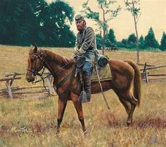 "Stonewall Jackson on Little Sorrel"" by Mort Kunstler"