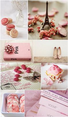 Moodboard - Pretty in Pink Little Things, Girly Things, Pretty Little, Pretty In Pink, Pale Dogwood, Pot Pourri, Color Collage, Wie Macht Man, Beautiful Collage