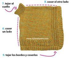 Knitted Shawls, Crochet Shawl, Knit Crochet, Knitting Projects, Baby Knitting, Cowl, Stitch Patterns, Peru, Children