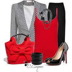 KS Red Bow Bag, not usually a bow girl but this is so cute! Classy Outfits, Pretty Outfits, Chic Outfits, Fashion Outfits, Diva Fashion, Luxury Fashion, Womens Fashion, Bow Bag, Work Chic