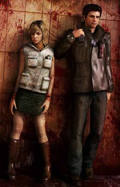 Silent Hill - Most Brutal Death - Alex Shepherd and Heather Mason is the Most Brutal way to Game Over in Silent Hill Series - Note: Picture by DeviantArt Silent Hill Video Game, Silent Hill Art, Silent Hill Origins, Trauma, Heather Mason, The Originals 3, Horror Video Games, Toluca Lake, Pokemon
