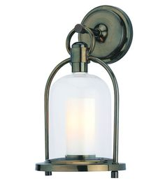 Troy Lighting Chatham 1 Light Outdoor Wall Lantern in Heritage Bronze B2021HB #troy #lighting