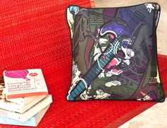 Jimi Hendrix Cushion Cover for my home  @ yellowtrunk.com
