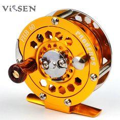 Vissen Fish Wheel All-metal Raft Fishing Fly Wheel Stainless Steel Micro-lead Wheel Front Wheel for Ice-fishing Flies