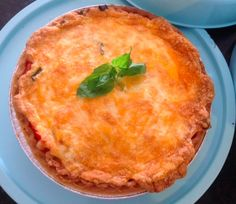Tomato Pie — I love all the seasonal fruits and vegetables and using them in recipes when they are so fresh.