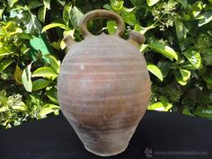 ALFARERÍA CATALANA: CÀNTIR (BOTIJO) SANT JULIÀ DE VILATORTA (Antigüedades - Porcelanas y Cerámicas - Otras)
