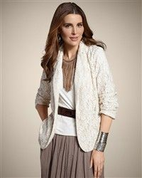 Chico lace Jacket love it! works with so many things