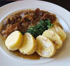 Výpečky z vepřového masa Ramen, Grains, Pork, Meat, Chicken, Ethnic Recipes, Chef Recipes, Food And Drinks, Kale Stir Fry