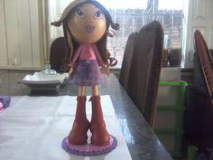 boneca em eva 3d