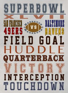 Free Super Bowl Printable for the party at your house!  #SuperBowl #SuperBowl Printable