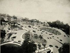 Lake Shore Drive and North Ave, 1929, Chicago.