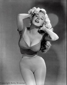 Betty Brosmer. Is it getting hot in here?