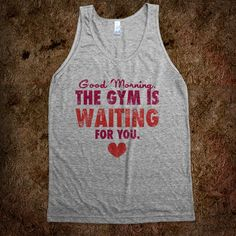 20 Incredibly Clever Workout Tees & Tanks That'll Make You Lust For The Gym