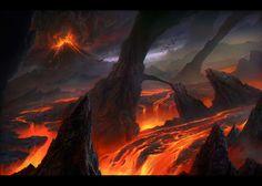 """ Lava Fields"" by MartaNael    http://fc03.deviantart.net/fs70/f/2013/004/4/e/4e18385b2447bbf3af199c9e277afba6-d5qe5eq.jpg"