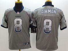 Men 8 Troy Aikman Jersey Football Dallas Cowboys Jersey 06d3166b2