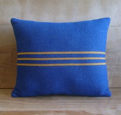 Pendleton Wool Pillow, 12x14 via Etsy.