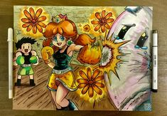 Flower Power! Dragon's Dogma, Super Mario Run, Suikoden, Princess Daisy, Punch Out, 30th Anniversary, Super Smash Bros, Flower Power, Wii