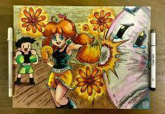 Flower Power! Dragon's Dogma, Super Mario Run, Suikoden, Princess Daisy, Punch Out, 30th Anniversary, Super Smash Bros, Flower Power