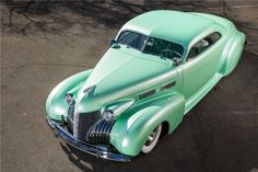 "1940 CADILLAC SERIES 62 CUSTOM COUPE ""SOPHIA"" - Barrett-Jackson Auction Company - World's Greatest Collector Car Auctions"