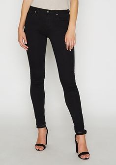 e3f60d93c Tall Siena High Waist Skinny Jean Jeans For Tall Women, Black Denim, Siena,