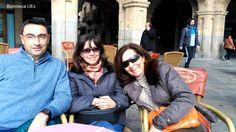 Nuestros compañeros en Salamanca para asistir a la conferencia sobre Métricas Alternativas de la mano de una experta en la materia, Tina Moir, Vice Presidenta de Desarrollo Estratégico y Partnerships de Plum Analytics, perteneciente al grupo EBSCO.