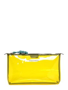 Dsquared - Pvc Pouch With Zip
