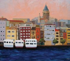 Galata by Ruben Monakhov Via
