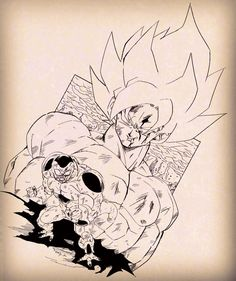 Dragon Ball Z, Collages, Fanart, Goku Super, Le Chef, Son Goku, Akira, Moose Art, Skull