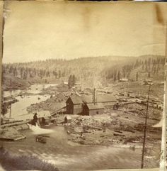 Lumber Mill :: R. E. Wood Collection