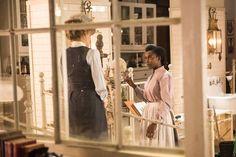 Ogden (Hélène Joy) meets Rebecca James (Mouna Traoré), the night cleaner, in the morgue(960×640)
