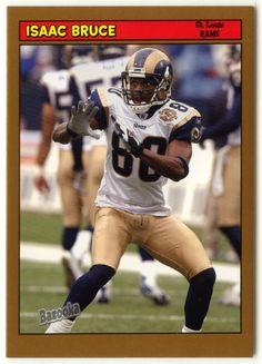 Isaac Bruce # 116 - 2005 Topps Baz Football - Gold
