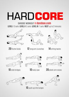Hard Core Workout