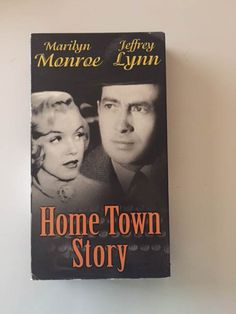 Hometown Story 1951 Film VHS Early Marilyn by MsStreetUrchin