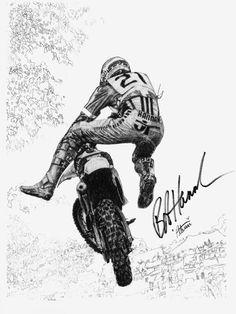 "Bob ""Hurricane"" Hannah... Motocross Legend."