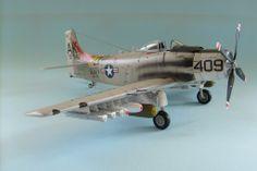 A-1H Skyraider 1/48 Scale Model