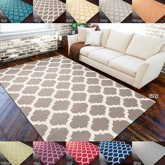 Hand-woven 'Botswana' Moroccan Trellis Reversible Flatweave Wool Area Rug (5' x 8') | Overstock™ Shopping - Great Deals on 5x8 - 6x9 Rugs