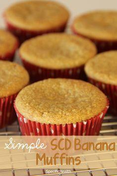 SCD // Simple Banana Muffins