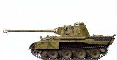 "Пантера D №-445 танковой дивизии ""Grossdeutschland"".Курская Дуга 1943 год."