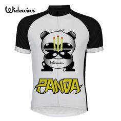 new panda cycling jersey 2017 summer styles short sleeve cycling jerseys of choose Cycling jerseys short sleeve shirt 6504