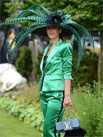 the Ascot. Looks like Kentucky Derby time! Kind of looks like the hat is wearing her. Kentucky Derby Fashion, Kentucky Derby Hats, Caroline Reboux, Royal Ascot Hats, Fascinator Hats, Fascinators, Headpieces, Derby Day, Carnival