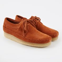 4833c38a59b Clarks Originals Clarks Weaver - Rust Suede (Image 1) Stylish Mens Fashion