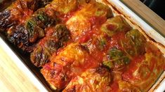Soeur Angèle nous propose un classique, les cigares au chou! One Pot Meals, Main Meals, Confort Food, Camping Bbq, Coconut Curry Chicken, Cabbage Rolls, Meatloaf, Tandoori Chicken, Vegetable Recipes