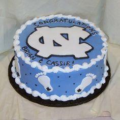 Tarheels cake...I must make this for Scott this year!
