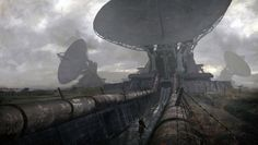 """""""Satellite Infiltration"""" by #WardLindhout. #sciencefiction #scifi"""