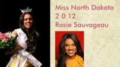 Rosemary Sauvageau has been crowned the 1st African-American Miss North Dakota