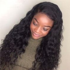 Wet And Wavy Full Lace Human Hair Wigs For Black Women Peruvian Water Wavy Wigs Human Hair Lace Wigs, Peruvian Hair, Wigs For Black Women, Hairline, Fashion Shoot, Protective Styles, Lace Front Wigs, Wig Hairstyles, Supermodels