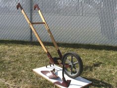 Gardening: Wheel Hoe - Finished