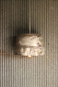Libation Light / Pendant Light / Vintage Garage Shop Light / Bar Light / Industrial / Rustic / Beer Light / Breweriana / Mantique on Etsy, $150.00