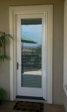 Choosing a French Door For Your Home Kitchen Patio Doors, Patio Door Blinds, Single Patio Door, Single Doors, Double Doors, External French Doors, Single French Door, Door Design, House Design
